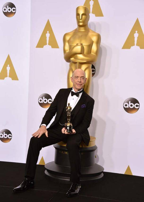oscars winner list, Whiplash, J.K. Simmons