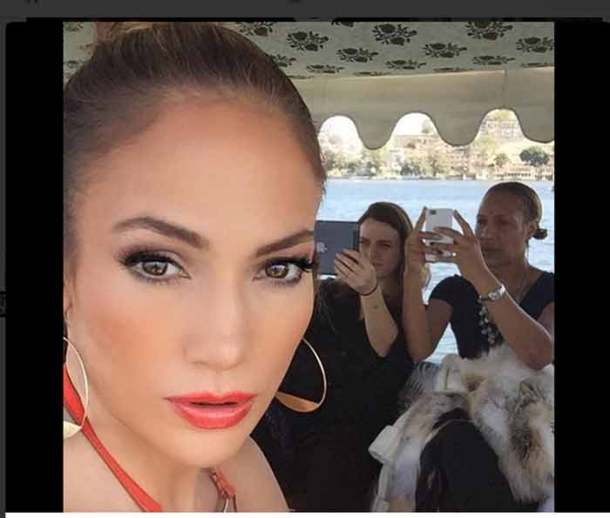 Jennifer Lopez, Hinduja wedding