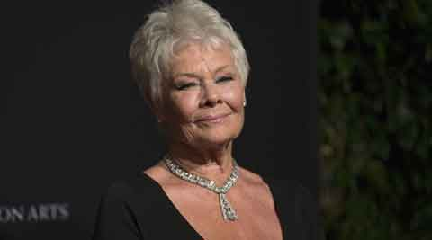 judi dench, judi dench tattoo, judi dench carpe diem, judi dench carpe diem tattoo, carpe diem tattoo, celebrity tattoos, entertainment news, hollywood news