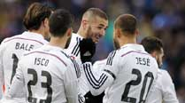 Benzema scores a brace as Real hand Sociedad 4-1 defeat