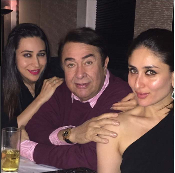 Kareena Kapoor, Karisma Kapoor, Randhir Kapoor, Babita, Rishi Kapoor, Saif Ali Khan, Randhir Kapoor birthday, Kunal Kapoor, Karisma Kareena, Neetu Kapoor