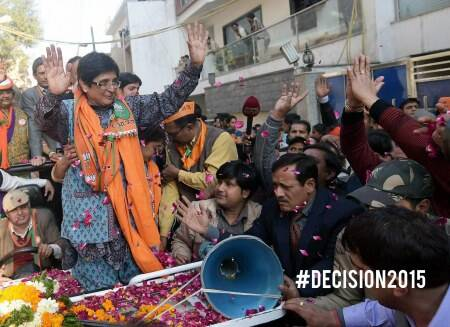 The Final Lap: Glimpses from the Kiran Bedi roadshow