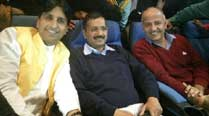 Arvind Kejriwal relaxes ahead of Delhi poll results, watches Akshay Kumar's 'Baby'