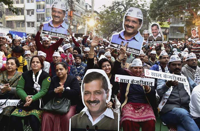 Arvind Kejriwal, AAP, delhi elections 2015, delhi polls, Aam Aadmi Party