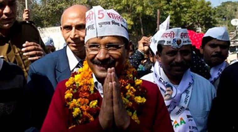 AAP, arvind kejriwal, AAP win, aam aadmi party, delhi assembly polls, delhi assembly elections, delhi polls, delhi news, indian express