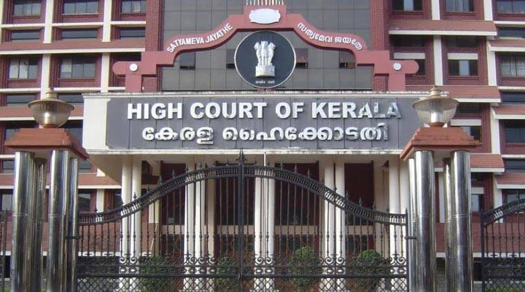 kerala high court, protests outside kerala high court, kerala governor, india news, indian express,
