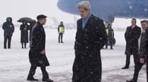 John Kerry Ukraine visit, Ukraine crisis, pro-Russian rebels, US arms supply