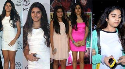 Sridevi's younger daughter Khushi goes from fat to fab