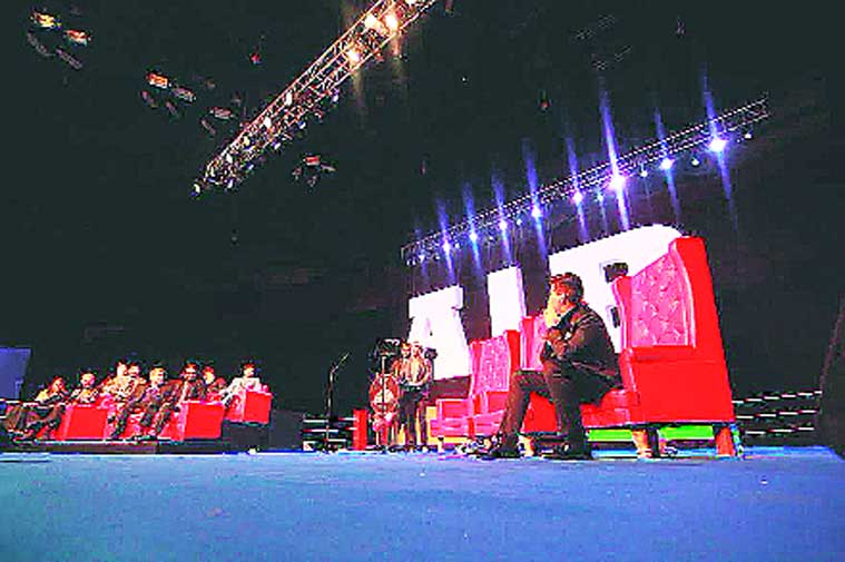A scene from the AIB Knockout Roast