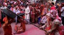 Barsana, Nandgaon celebrate LathmarHoli