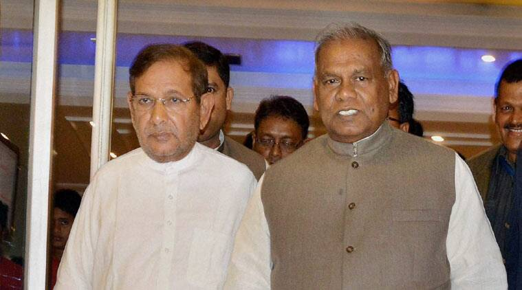 JD(U), Bihar Chief Minister, Jitan Ram Manjhi, Legislature Party, Parliamentary Affairs Ministry, Shrawan Kumar, Sharad Yadav, HRD Ministry, Manjhi, Nitish Kumar, BJP