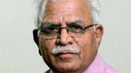 Listen to Haryana CM M L Khattar saying Muslims have to give up beef
