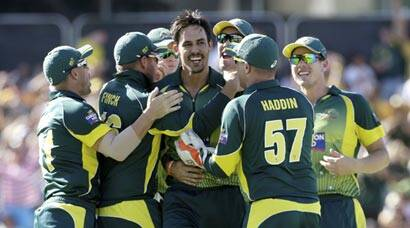 It's that man Mitchell Johnson again