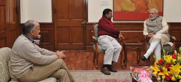 Arvind Kejriwal, Narendra Modi, Delhi polls, AAP