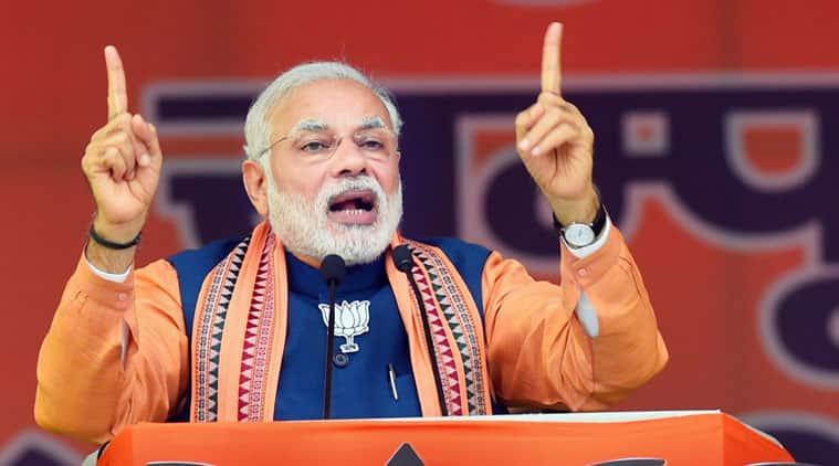 narendra modi, modi rally, delhi elections, delhi polls, bjp