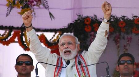 Modi takes land law impasse to public