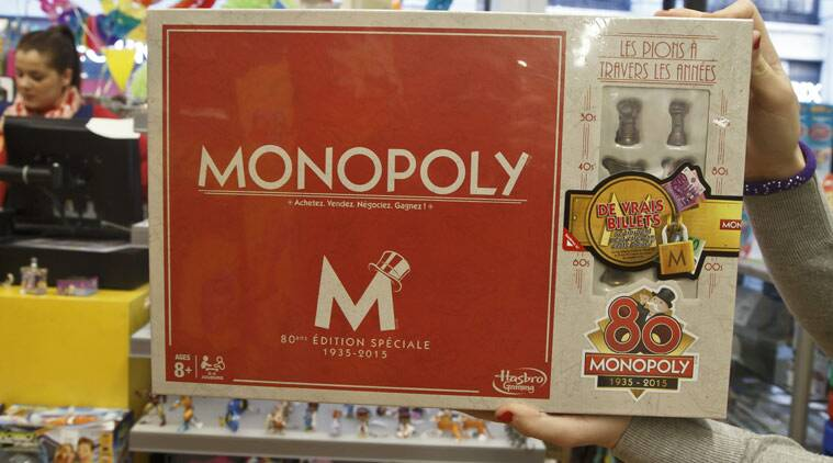 Monopoly game, Monopoly in France,  80years of Monopoly in France, world news, international news, games