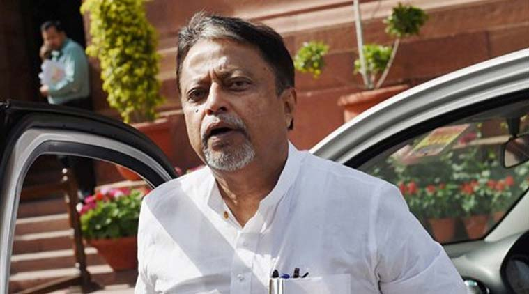 Trinamool Congress leader Mukul Roy. (Source: PTI)