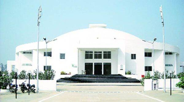 The Rajgir Convention Centre where Nalanda University are being held. (Source: Express photo)