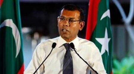 Maldives Prez addresses Parliament amid opposition protests