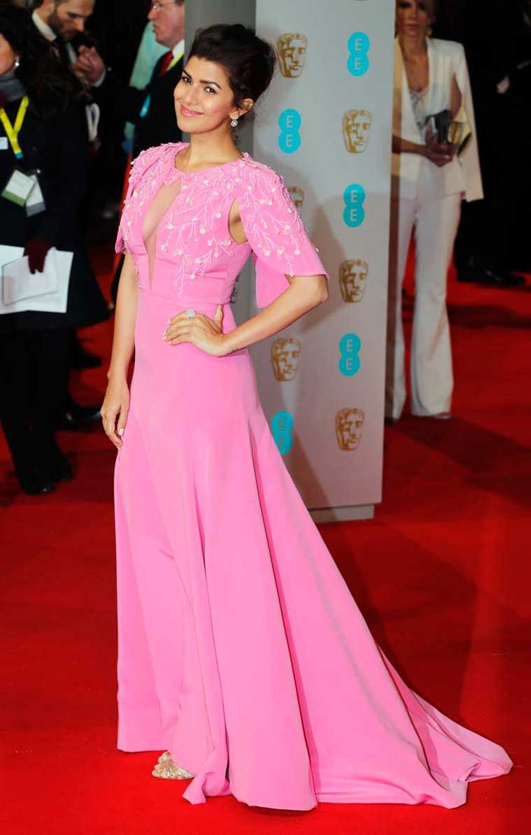 nimrat-kaur-bafta-red-carpe