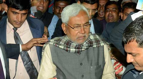 Nitish Kumar, Har ghar dastak, Nitish kumar har ghar dastak, JDU, bihar polls, bihar, bihar elections, bihar assembly elections, Har Ghar Dastak programme, JDU campaign, Nitish latest news, India latest news
