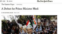 US media sees Narendra Modi 'brought down to earth'