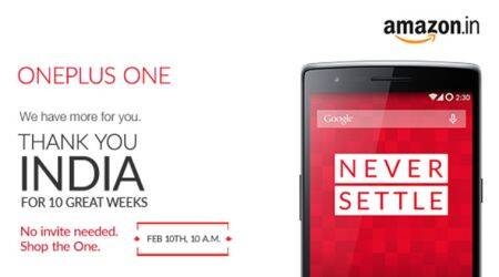 OnePlus One available on Amazon today without invite