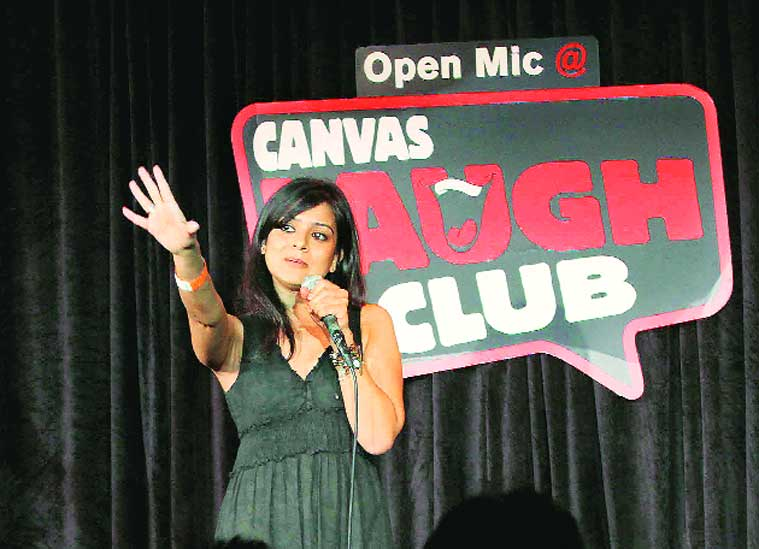 An open-mic session in Mumbai
