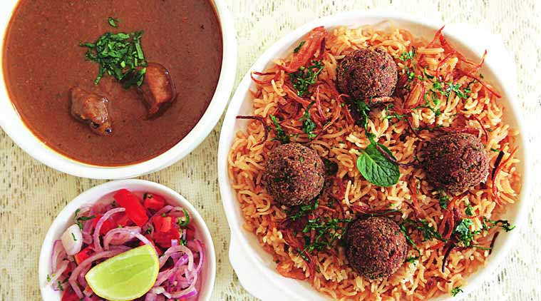 rustom's mutton, food, parsi food