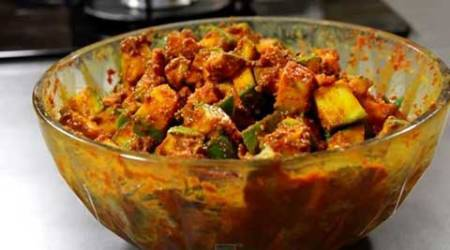 Express Recipes: How to make Raw Mango Pickle without oil