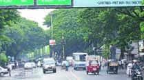 Weekend experiment on making Jangli Maharaj Road two wayagain
