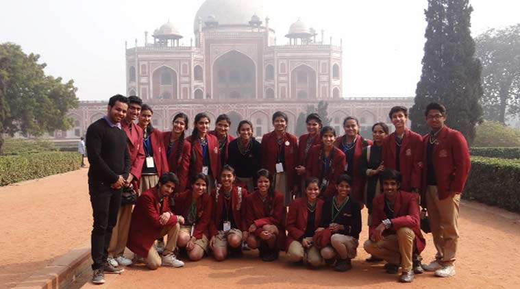 express quest, The Indian School, Humayun Tomb, School news, delhi news, local news, city news