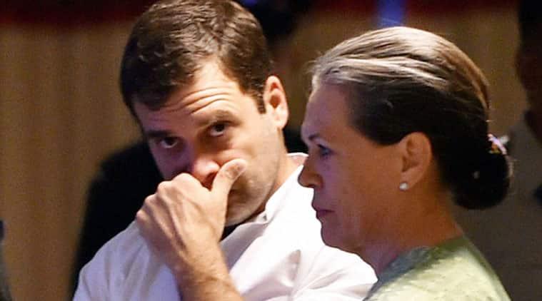Rahul Gandhi, Sonia Gandhi,