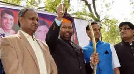 LJP, Ram Vilas Paswan, Land Acquisition