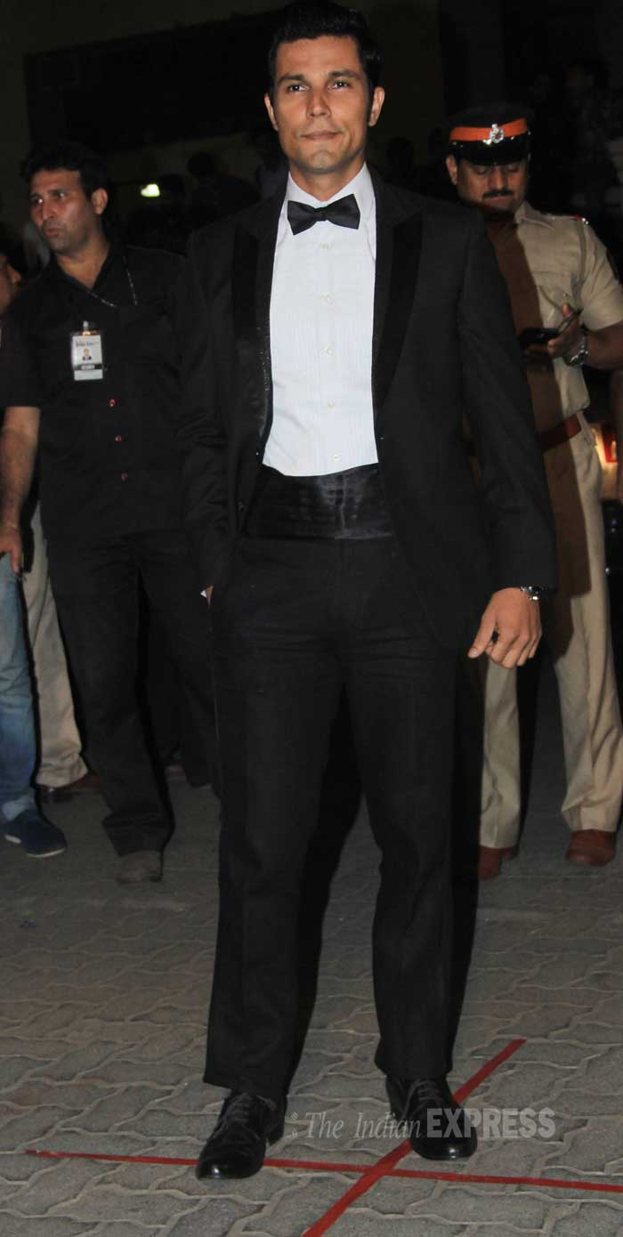 randeep hooda, randeep hooda at filmfare awards