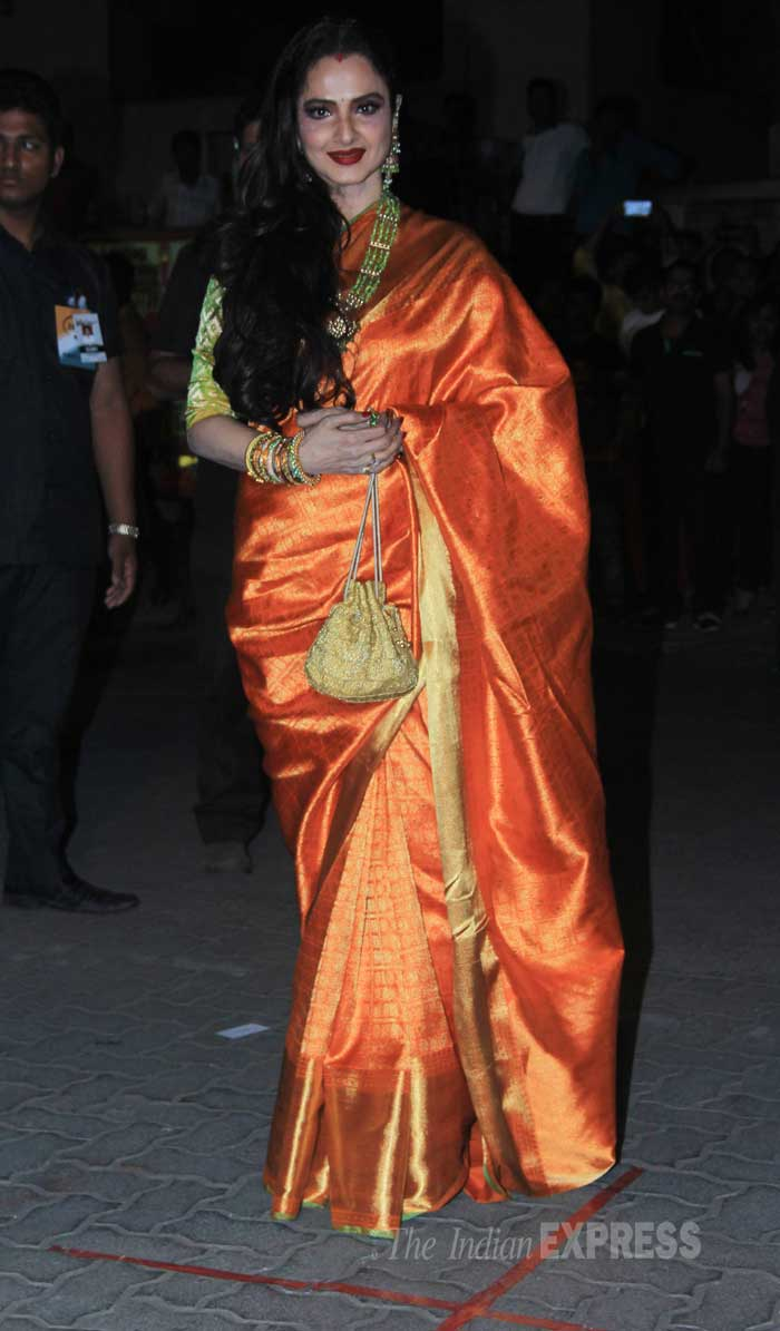 rekha, rekha at filmfare awards
