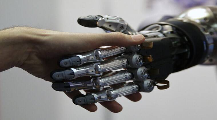 The hotel will be partially staffed by what are termed 'actroid' androids – remarkably human-like robots who will be able to greet, carry luggage to rooms, make cups of coffee –and even smile. (Source: Reuters photo)