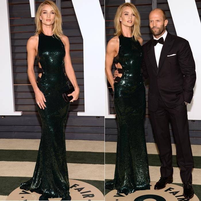 Rosie Huntington-Whiteley, Jason Statham.
