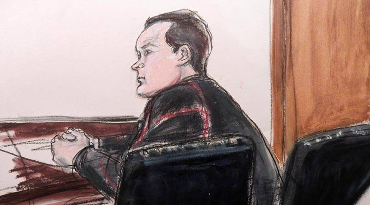 Yevgeny Buryakov appears in federal court in Manhattan Monday, Jan 26, 2015 in New York after his arrest earlier in the day in connection with a Cold War-style Russian spy ring. (Source: AP)