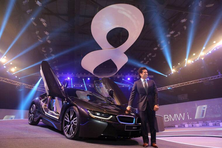 Sachin BMW, BMW i8, BMW i8 in India, BMW in India, BMW india, i8 BMW launched