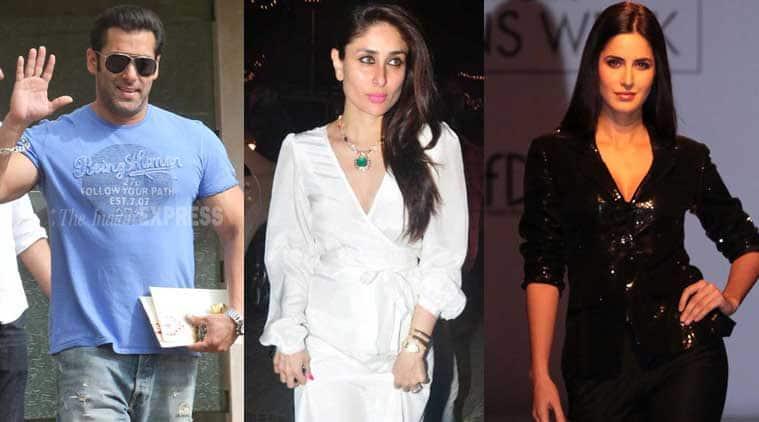 Salman Khan, Kareena Kapoor, Katrina Kaif