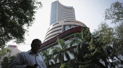 Volatile Sensex falls 75 pts in late sell-off; NSE Nifty closes below 8450