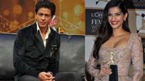 SRK says 'Sabse Shaana Kaun', Sonam Kapoor dresses up for an award