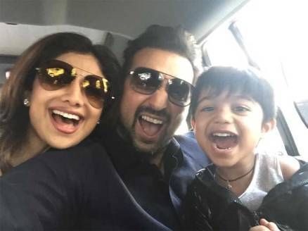 shilpa shetty son, shilpa shetty raj kundra son