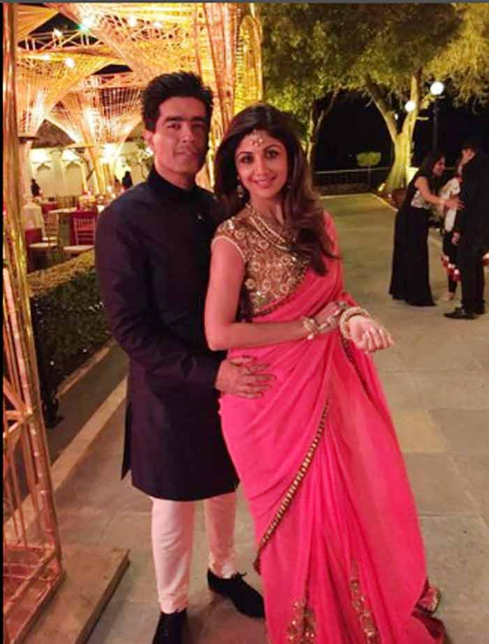 Hinduja wedding, Shilpa Shetty