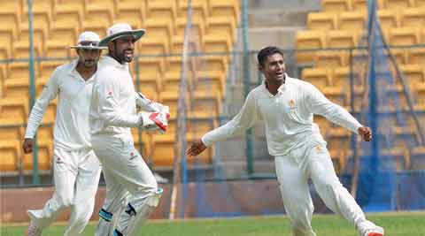 Ranji Trophy, Ranji Trophy 2015, Ranji trophy semi final, Karnataka vs Mumbai, Mumbai vs Karnataka, Ranji results, Mum vs Kar, Kar vs Mum, Sports, Cricket, SPorts news, Cricket news, Ranji news