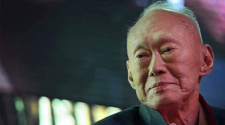 FILE - In this March 20, 2013, file photo, Singapore's first Prime Minister Lee Kuan Yew attends the Standard Chartered Singapore Forum in Singapore. (AP Photo)