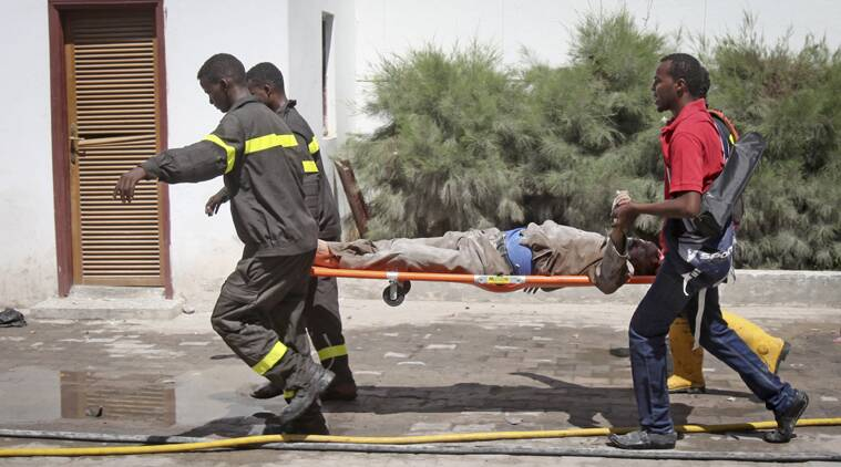 somalia bombings, Suicide bombings Somalia, al Shabab militants, al Qaida, Islamic insurgent group, Suicide bombings, Somalia, somalia news, africa news, world news, indian express