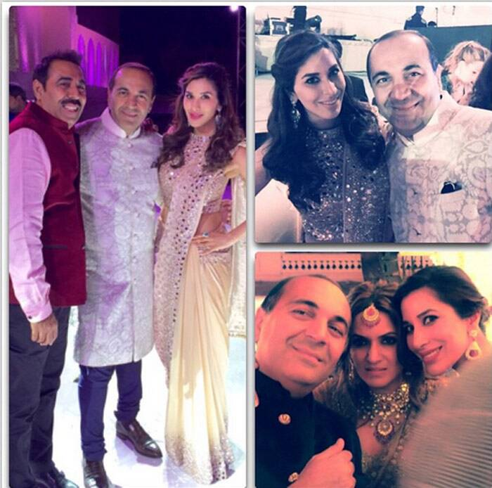 Sanjay Hinduja Wedding, Sophie Choudry